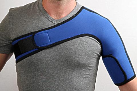 Бандаж на плечевом суставе