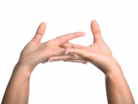 Движения пальцами по кругу