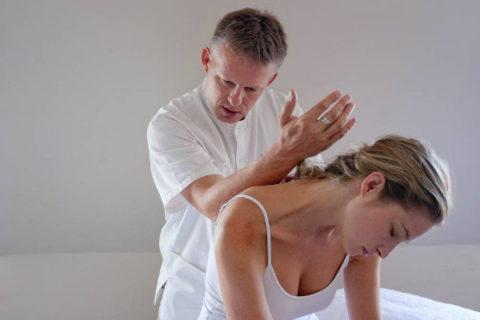 Элементы остеопатии при остеохондрозе после перелома