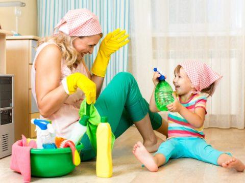 Игры с моющими средствами приводят к травме