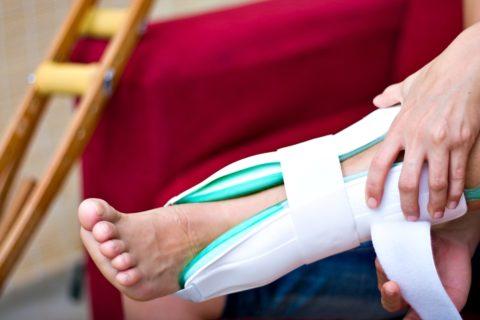 Перелом лодыжки наблюдается у пациентов любого возраста