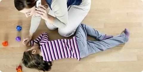 Потеря сознания у ребенка