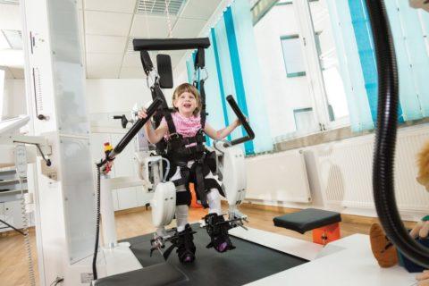 Реабилитация детей на роботизированном комплексе LokomatPro Pediatric