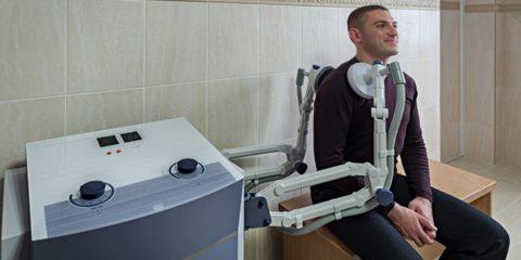 УВЧ после перелома суставной кости плеча