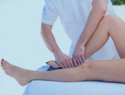 Восстановительный массаж после травмы