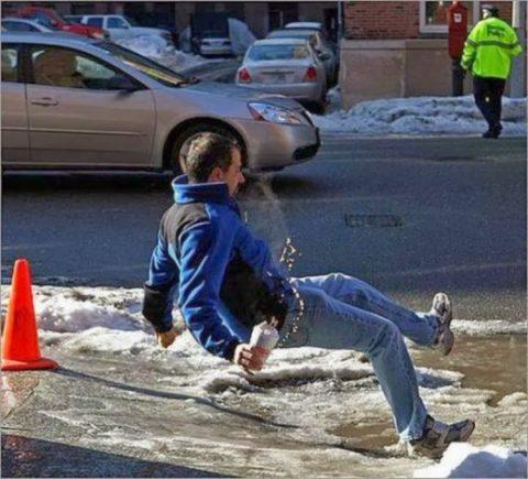 Зима — наиболее травмоопасный сезон