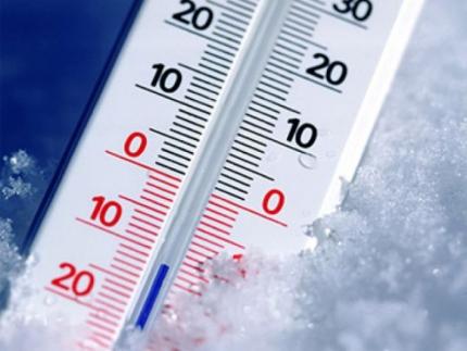 Более 10 градусов мороза