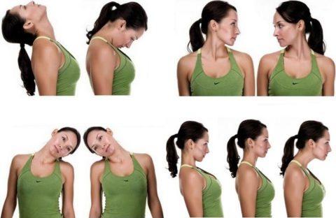 Комплекс физических упражнений для восстановления функций шеи после травмы