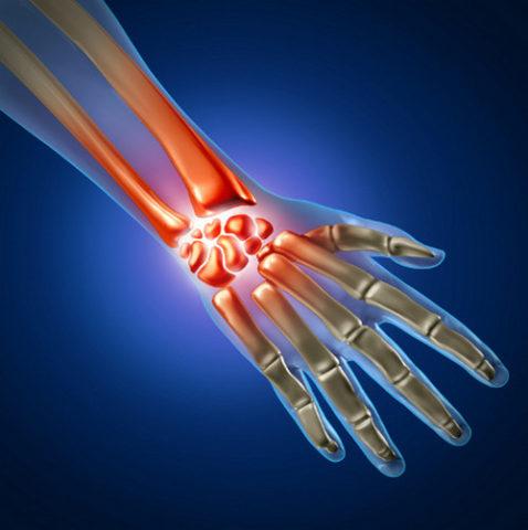 Крепитация и патологическая подвижность при повреждении пальца