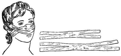 На пострадавшие от холода участки накладываются специальные термоизолирующие повязки.