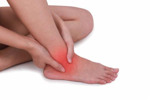 Область голеностопного сустава наиболее часто подвержена травмированию