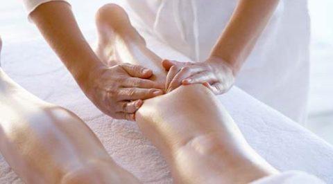 Отсасывающий массаж нижних конечностей