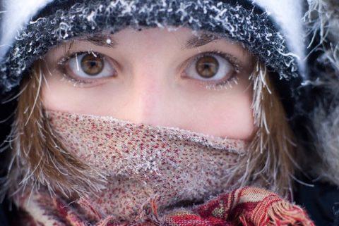 Причины обморожения (фото)