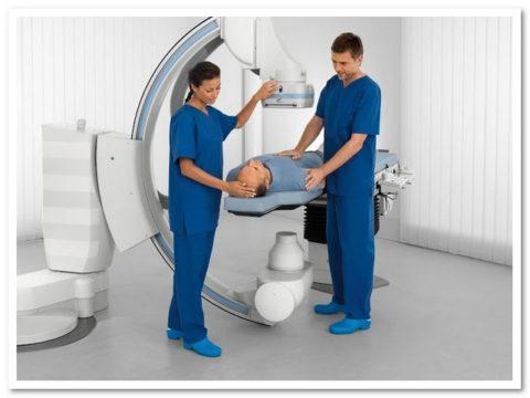 Процедура компьютерной томографии перед назначением лечения