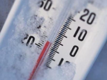 Температура ниже нуля