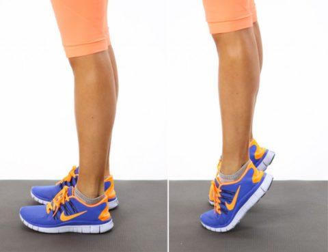 Укрепление мышц голени и стопы