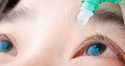 Что делать при попадании перекиси в органы зрения