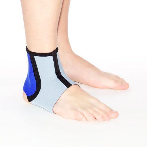 Фиксация ноги – важная часть реабилитации