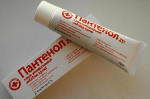 Использование крема при травмах