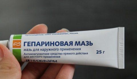 Использование препарата.