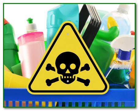 Моющие средства опасны для человека.
