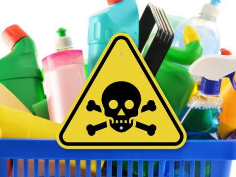 Неосторожное обращение с бытовой химией может привести к печальным последствиям