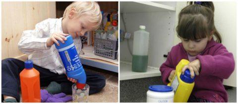Неосторожное обращение со средствами бытовой химии может привести к печальным последствиям