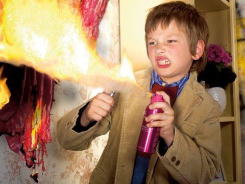 Ожог пламенем — одна из самых распространенных бытовых травм