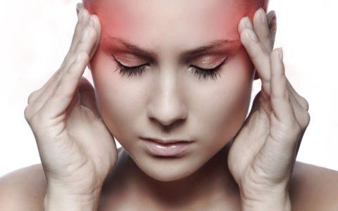 Побочное явление в виде мигрени после использовании препарата