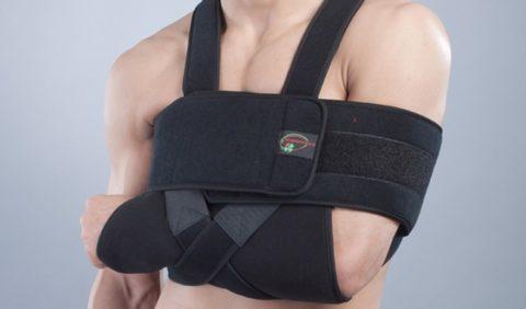 Повязка Дезо при переломе плечевого сустава