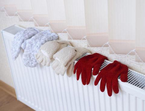 При низких температурах следите за тем, чтобы конечности оставались сухими и теплыми.