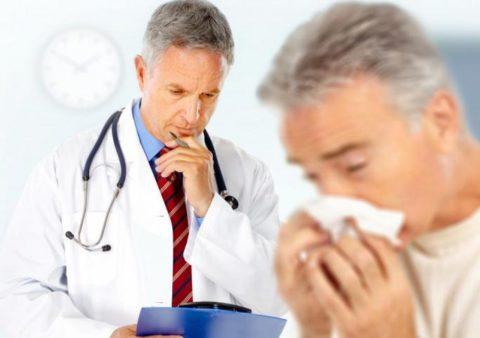 При появлении симптомов аллергии нужно обратиться за помощью.