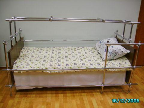 Пример оборудования спального места в домашних условиях