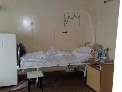 Пример спального места при переломах