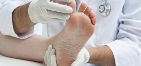 Процедура диагностического осмотра при травме пальца на ноге