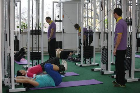 Разработка травмированных ног на тренажерах Бубновского