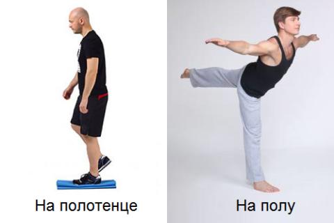 Важный вид упражнений при переломах лодыжек – балансирования на сломанной ноге
