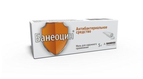Антибактериальный препарат банеоцин