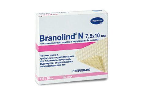 Бранолид для лечения поврежденной кожи