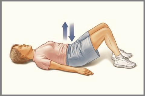Дыхание «животом» – важная составляющая дыхательной гимнастики при постельном режиме