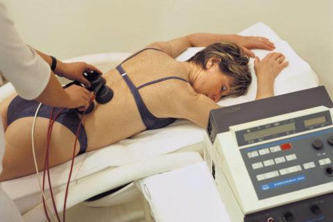 Физиотерапия поясницы