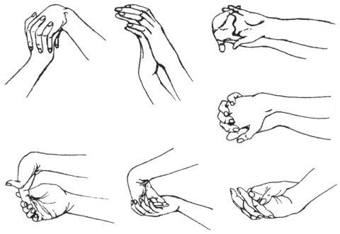 Комплекс упражнений для пальцев