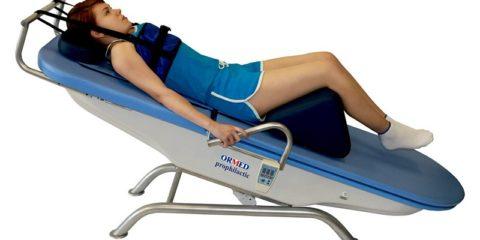 Кровать для создания мышечного корсета.