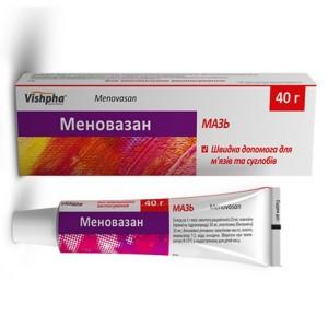 Меновазин для снятия боли