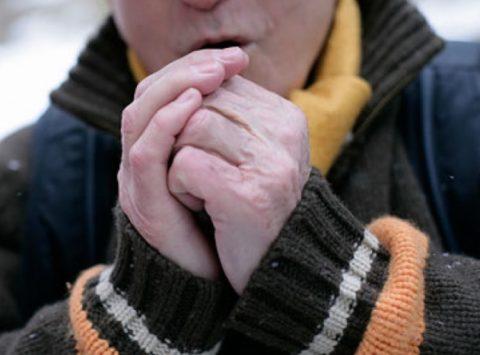 Наиболее подвержены холодовым травмам руки и ступни, а также чувствительная кожа лица.