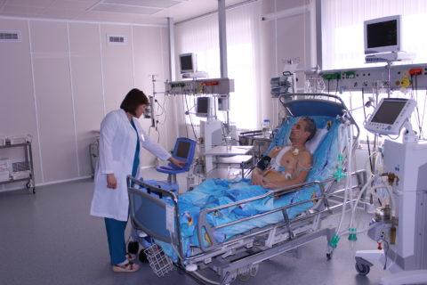 Пациенту предстоит продолжительный период реабилитации.