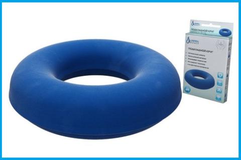 Покупайте «презентабельный» круг, в дальнейшем он будет служить ортопедической подушкой для сидения
