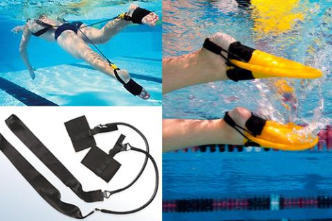 После диафизарных переломов голени лучше плавать с эспандером или в мини-ластах