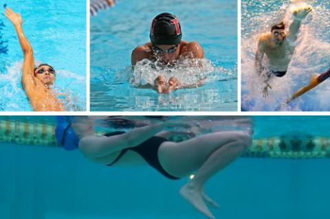 Применяемые стили плавания для реабилитации после переломов плеча