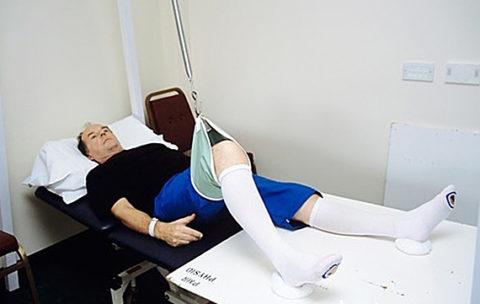 Пример кровати для пострадавшего после перелома тазобедренного сустава